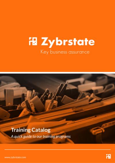 zybrstate training catalog cover