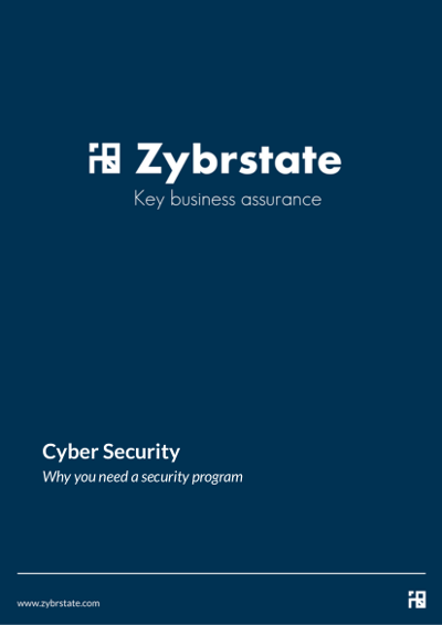 why you need a security program cover